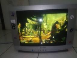 Televisão de tubo ótimas condições com o converso já incluso no valor