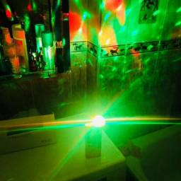 Novidade Mini USB Luz de Discoteca Bola de Cristal Mágico