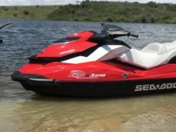 Jet Ski sea doo 130 gti se 2012 R$ 34.000,00 com carroça de alumínio - 2012