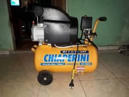 Compressor de ar 24 litros usado 2 vezes