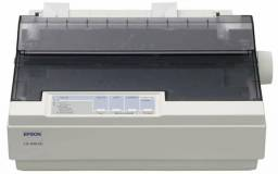 Impressora Matricial epson Lx300 II + Caixa de papel continuo praticamente lacrada