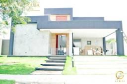 Única casa plana a venda no Alphaville Fortaleza, 4 Suítes, projetada e decorada