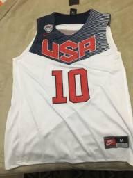 Camisa basquete Estados Unidos