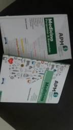 350,00$ inperdivel 2 livros de medicina perguntas e respostas