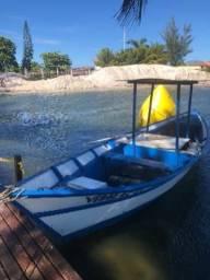 Barco de madeira com motor Ns11 - 2000