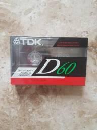 Fita cassete TDK D60