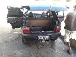 Fiat uno 2006 ar trava e alarme - 2006