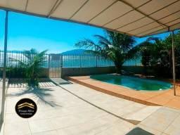 Casa com Piscina 4Dorm de frente p/Mar na Praia de Fora, Palhoça SC - Vista Paradisíaca