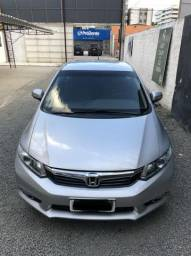Honda Civic 2.0 LXR sedan flex automático 102mil Km - 2014