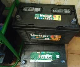 Baterias 100 ah::180 reais