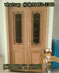 Colocação de portas madeiras/Montador de móveis
