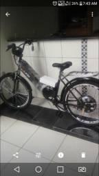Bicicleta elétrica 0km 800w nunca usada