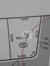 Terreno à venda, 623 m² por r$ 187.158 - rodovia do peixe