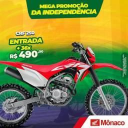 Crf 250 ano 2019 modelo 2019 - 2019