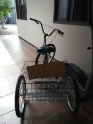 Bicicleta de 3 rodas nova