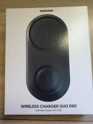 Carregador sem fio Duplo Samsung Lacrado