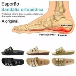 Kit 3 Pares Sandália Ortopédica Feminina Alívio Nos Pés