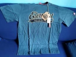 7a77da53cd3c7 Camiseta Element Original tamanho G. Nova, com todas as etiquetas