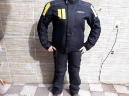 Vendo - Conjunto Motociclista Jaqueta + Calça Kevlar Revolt feminino