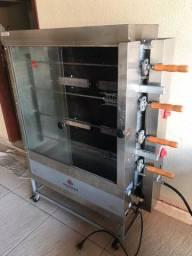 Frangueira /Assador rotativo a gás para 20 frangos Progás