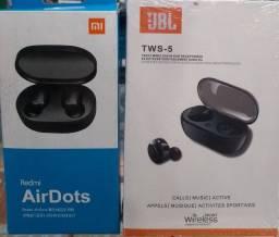 (AirDots x JBL tws-5 original) produtos de confiança só sai da loja com GARANTIA
