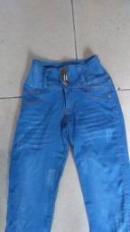 Calças jeans Tam 36 maravilhosa ???