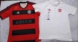 2 Camisas Flamengo Adidas por 100