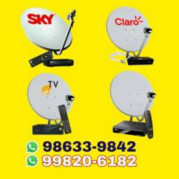 Antena receptores canos