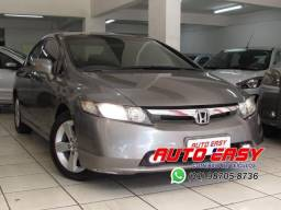 New Civic LXS 1.8 Automático C/Couro! - 2007