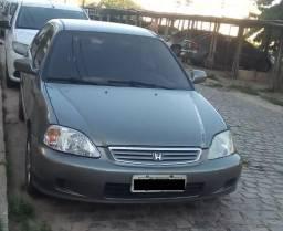 Honda Civic LX Ano 2000 Conservado - 2000