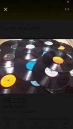Lote de discos de vinil sem capa (3000 disponíveis)
