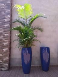 Vaso Fibra De Vidro Moderno Estilo Cerâmica Vietnamita 70cm  Pronta entrega