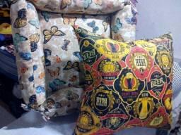 Confecção de camas, almofadas e acessórios pets.