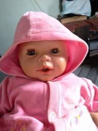 Boneca bebê da cotiplás