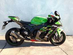 Kawasaki ninja zx-10r 2020 verde com apenas 3 mil km rodados