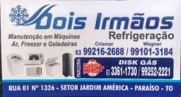Serviços de refrigeração em geral