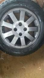 Rodas GM 15 troco por rodas volks
