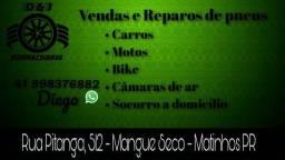 Borracharia pneus apartir de 50 reais!