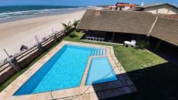 (ESN) Linda Casa de Praia no Presidio pé na areia 800m 5 quartos e 5 vagas TR63313