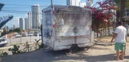 Vendo trailer em Acm e aço 304 (não é madeira por fora apenas um adesivo)