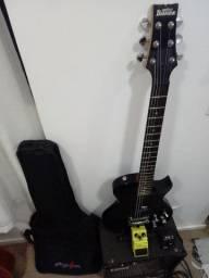 Guitarra Ibanez + Amplificador Laney + OverDrive