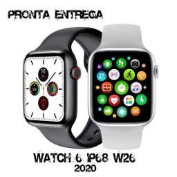 Relógio Smartwatch W26 Ip68 Tela Infinita Modelo Lançamento!