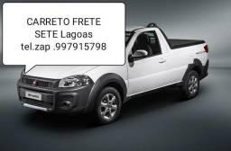CARRETO FRETE TRANSPORTE SETE LAGOAS região