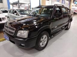 GM S10 cab Dupla Advantage 2.4 Preta 2007 (Completa + Couro)