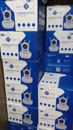 Camera Robo 3 Antenas Ip Wifi 360º 720p