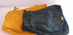Short canelado Pluz size GG