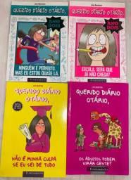 4 livros Querido Diário Otário