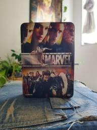 Lata DVDs Coleção Marvel
