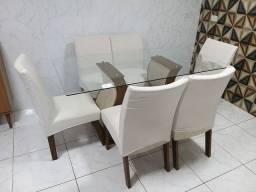 Mesa de jantar 06 lugares