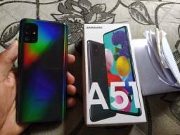 Galaxy A51 128 GB Nota Fiscal Vendo Troco Aceito Cartão